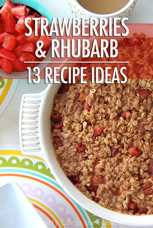 The Classic Spring Combo: 13 Strawberry Rhubarb Recipes | Food Bloggers of Canada