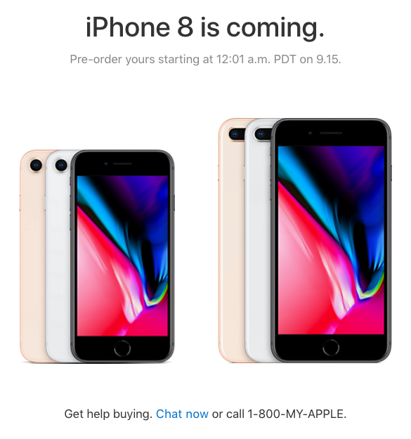 iPhone 8 iPhone X - How To Pre-Order, $300 Trade In Offers ...