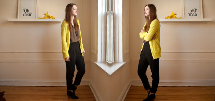 dash dot dotty, neon cardigan, creative young professional, ootd, work outfits, business casual, outfit blog, black pants outfits, what to wear with, boyfriend cardigan, zara pleated pants