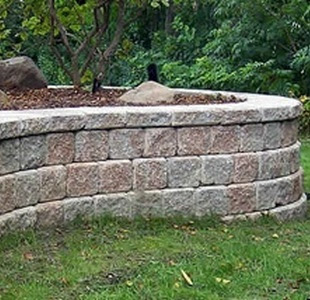precast concrete block retaining walls