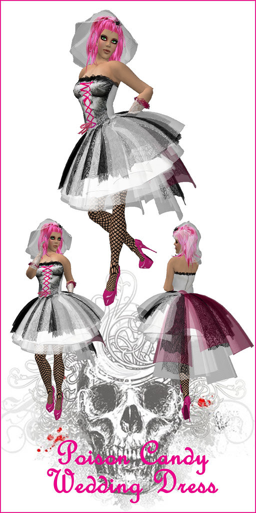 Poison Candy Wedding Dress
