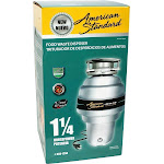 Joneca Corporation American Standard 1.25 HP Food Waste Disposer
