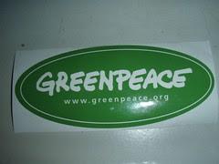 Greenpeace Decal