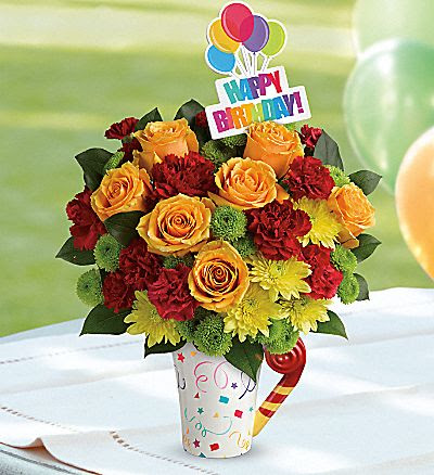 Birthday Flower Gift Images