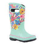 Bogs Kids Pansies Rain Boots
