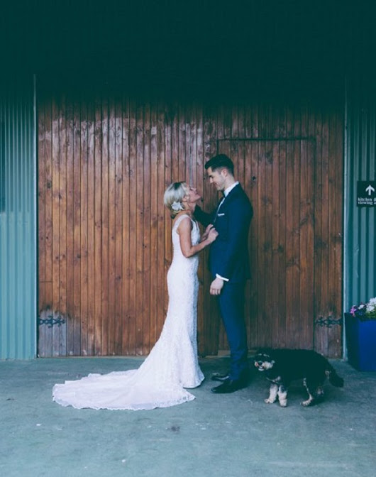 Glam Country Wedding