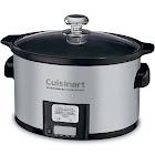Cuisinart PSC-350 Steel Slow Cooker - 3.5 qt - Aluminum