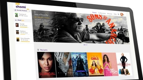 Web streaming service Shomi to shut down as of Nov. 30