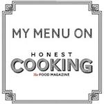 my menu on honest cooking