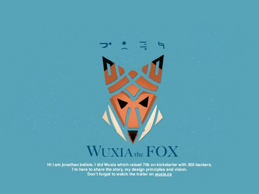 Wuxia the fox - Kickstarter Campaign - 13 Lessons