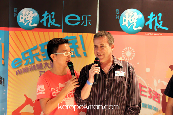 An interview with Xiao Peng and Aussie Pete