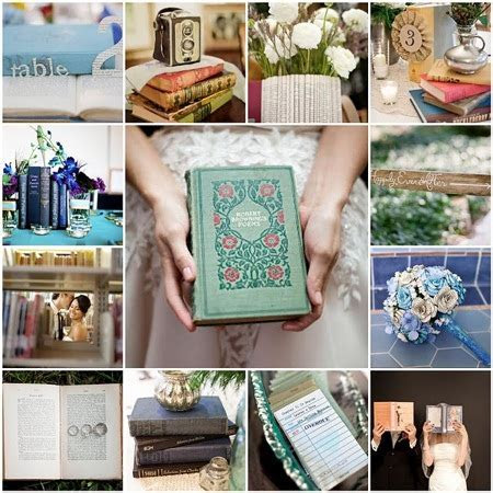 Literary Themed Wedding   Literature Wedding Decor   Etsy