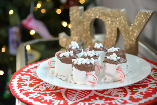 Fun Food For Kids - Marshmallow Hot Cocoa Cups - Our Ordinary Life