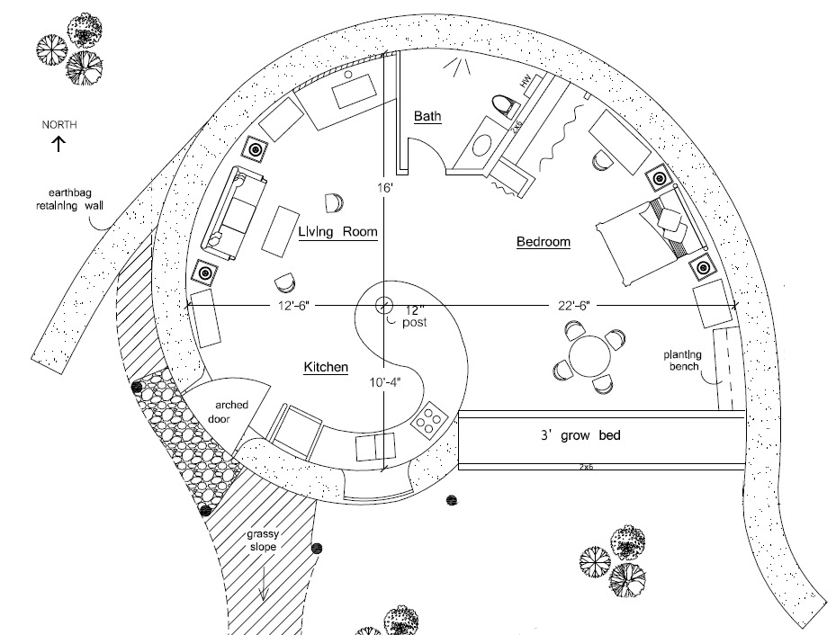 Earth Sheltered Home Plans Home And Aplliances
