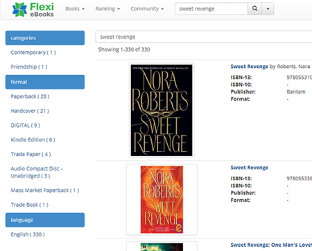 Flexi eBooks Introduces New Improved Search