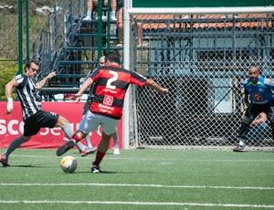 Gabriel foi o destaque da partida, mesmo lesionado (Foto: Luiz Carlos Quadro Junior / Divulgação)