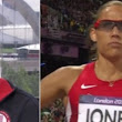 Dawn Harper, Kellie Wells upset Lolo Jones is focus of media's attention (Video) | Larry Brown Sports