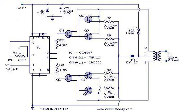 Grozzart Inverter Parts Diagram Pdf