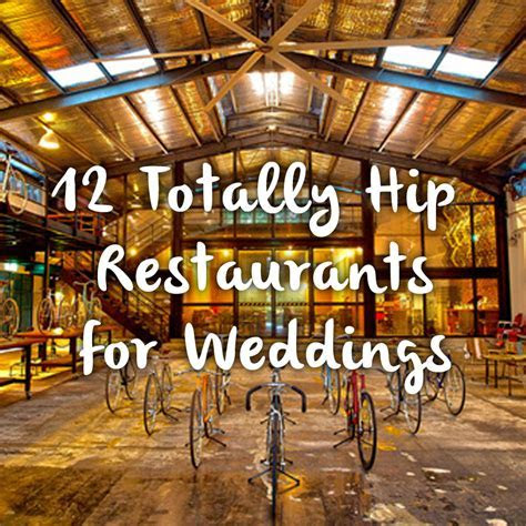 12 Totally Hip Restaurants For Singapore Weddings   Burpple