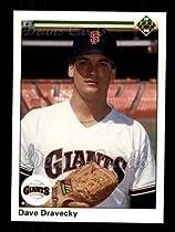 1990 Upper Deck Dave Dravecky Giants Baseball Card 679 Deans