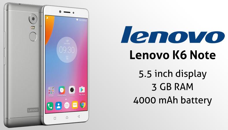 Lenovo K6 Note User Guide Manual Tips Tricks Download