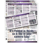 PhotoBert Photo CheatSheet for Nikon D7500 Digital SLR Camera