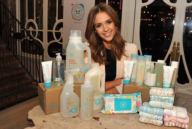 Mulher de negócios: A atriz lançou A empresa honesta, que fornece produtos para bebês ecológica