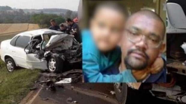 """HORROR! Antes de jogar carro contra caminhão, pai manda filho gravar vídeo: """"Adeus, mãe"""". VEJA VÍDEO"""
