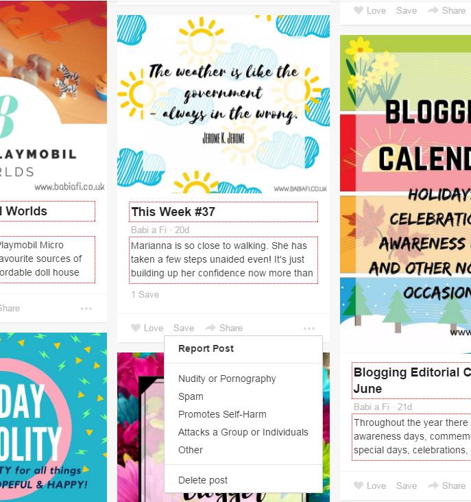 bloglovin post