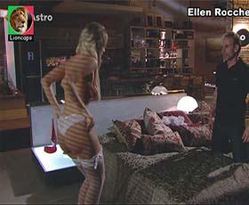 Ellen Rocche nua na novela O Astro