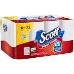 Scott Choose-A-Size Paper Towels, White - 12 count