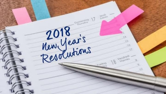 What should be on your resolution list this New Year?