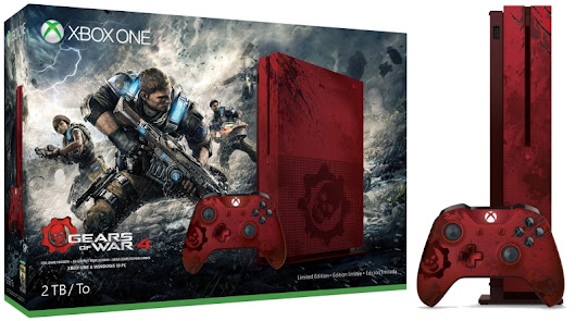 Xbox One S Gears of War 4 Limited Edition ~ FunkyVideoGames