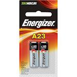 Energizer ZeroMercury Batteries, Alkaline, A23 - 2 batteries