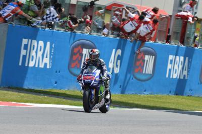 Victoria de Lorenzo en el GP TIM de Italia de MotoGP™