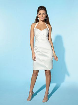 Wedding dresses: little white wedding dress