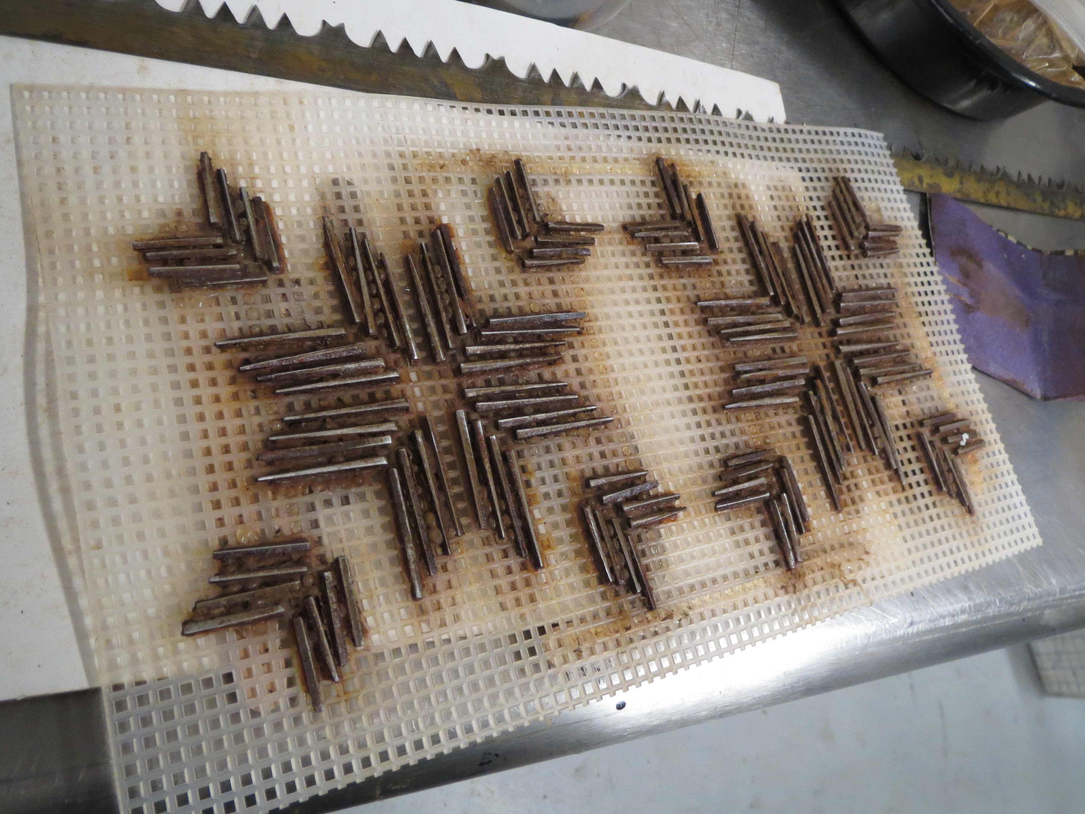 """Rusty Nails for """"Printing"""""""