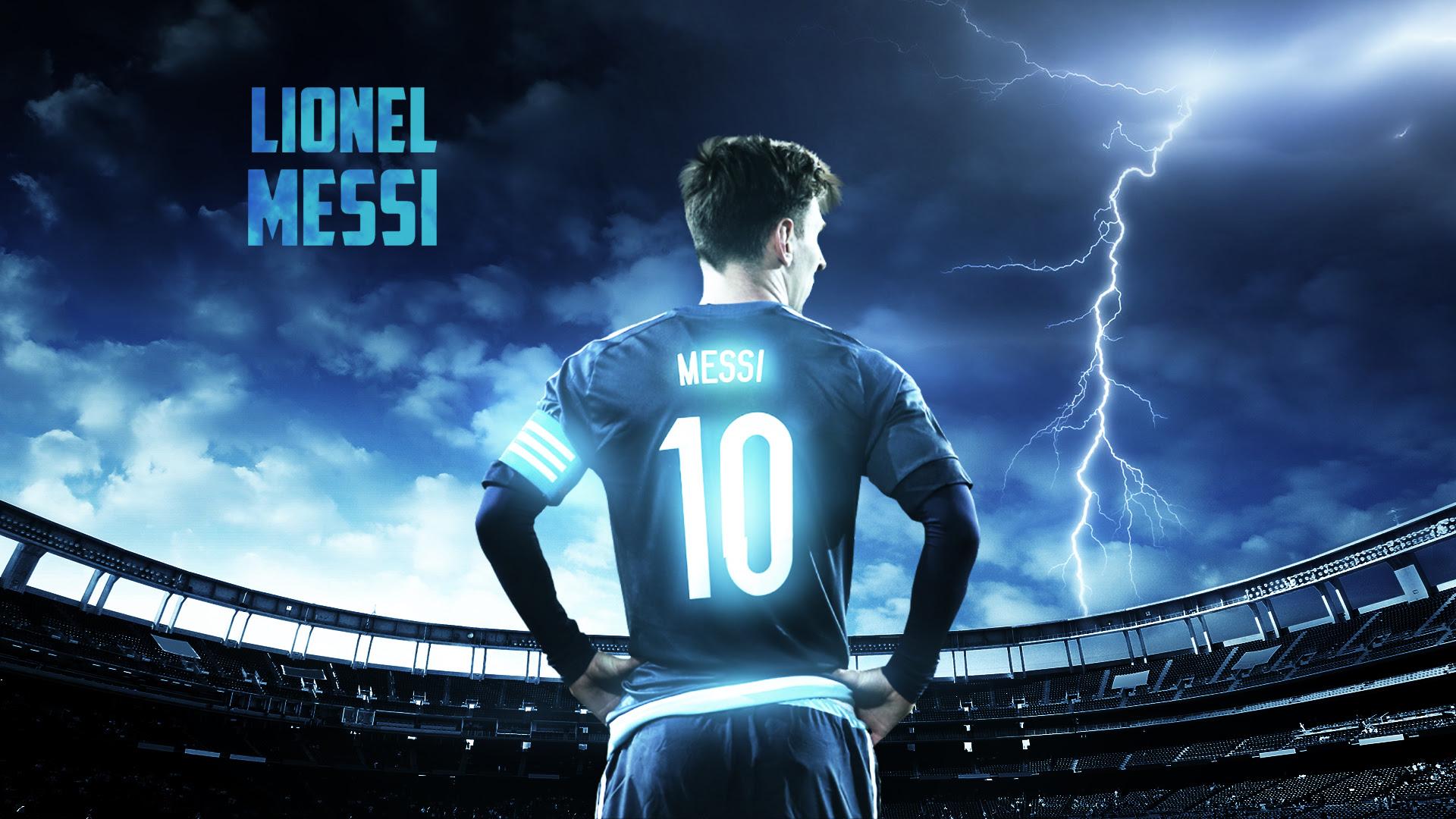 Messi Desktop Background  PixelsTalk.Net