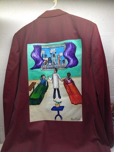 """Picket Line"" a jacket for Steven F. Horowitz"