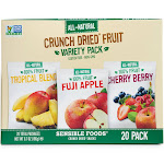 Sensible Foods Crunch Dried Fruit Variety Box - 20ct