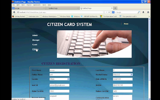 Citizen Card System