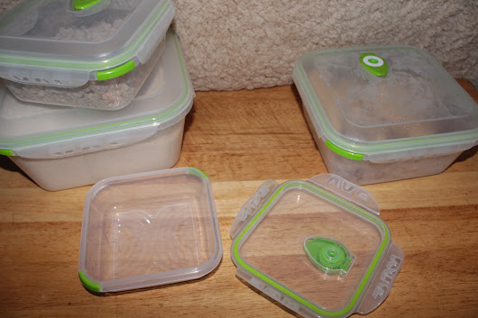 Review: Ozeri INSTAVAC Green Earth Food Storage Container