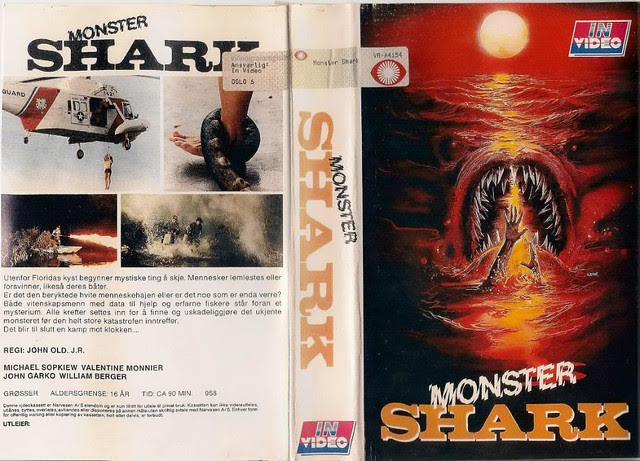Monster Shark (VHS Box Art)