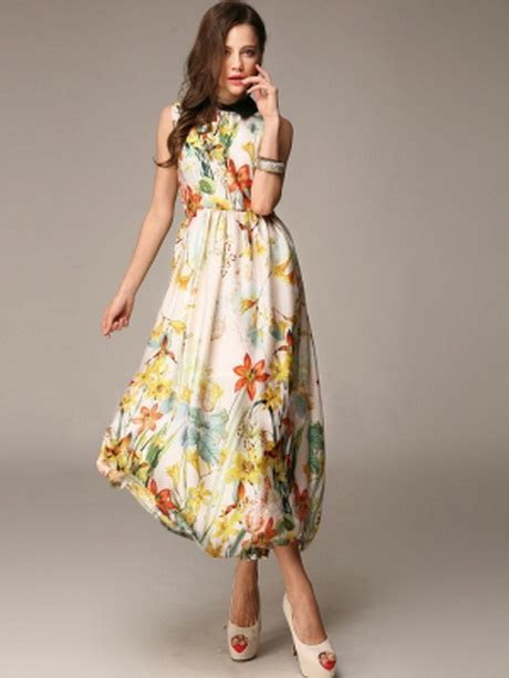 Tea length summer dresses