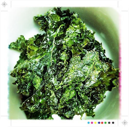 girl who bakes: baked kale chips