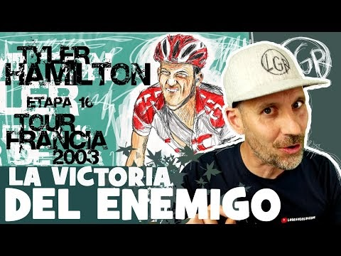 TDF2003. 'TYLER HAMILTON, LA VICTORIA DEL ENEMIGO' Tour de Francia 2003. Etapa 16 - Alfonso Blanco