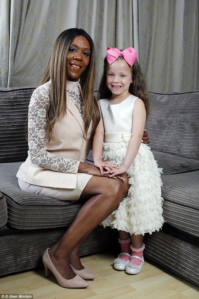 Sophia Blake was stunned when her daughter Tiara was born white with blue eyes, despite her being black