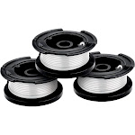 Black & Decker AF-100-3ZP 30 Feet Line String Trimmer Replacement Spool, 3 Count