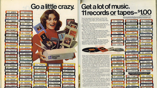 Columbia House, the Spotify of the '80s, is dead
