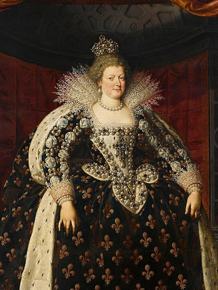 File:Maria de' Medici Frans Pourbus the Younger (detail).jpg